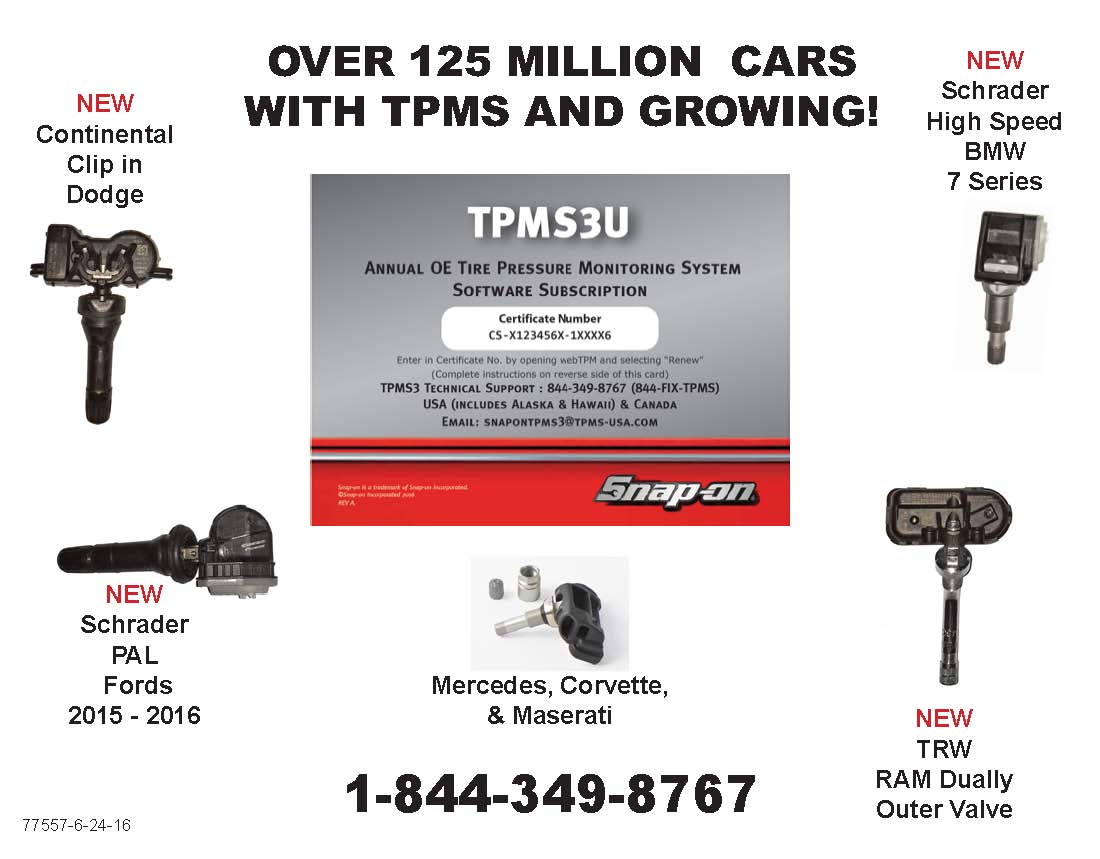 Vehicle Coverage – TPMS3 Tool Support Center